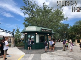 Guests can now enjoy a selection of crepes from the newly opened food stand in the New York Central Park area. Both savory and sweet choices are offered. Say tuned to Hollywood Studios HQ for the latest Park news! Universal Orlando. Photo by John Capos