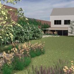 zicht tuin