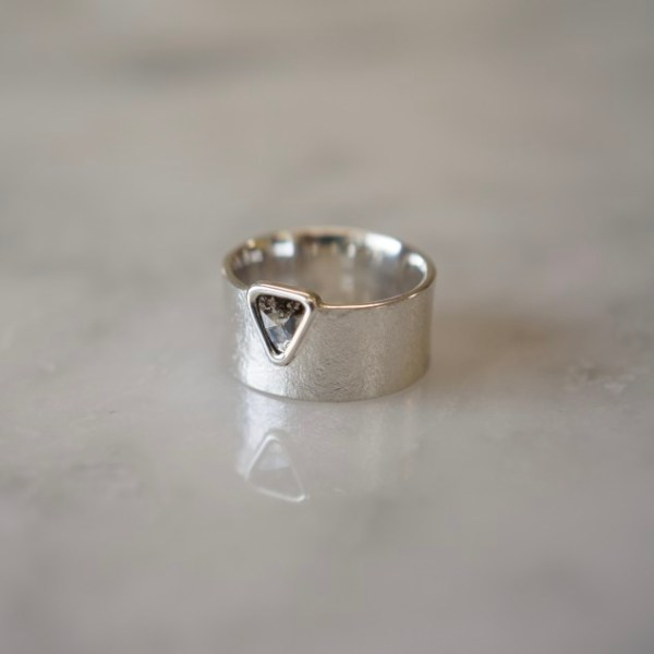 Ring / SV,Translucent Diamond