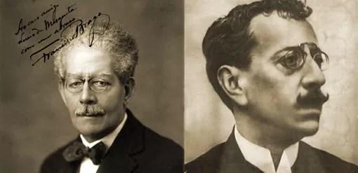 Antônio Francisco Braga e Olavo Bilac
