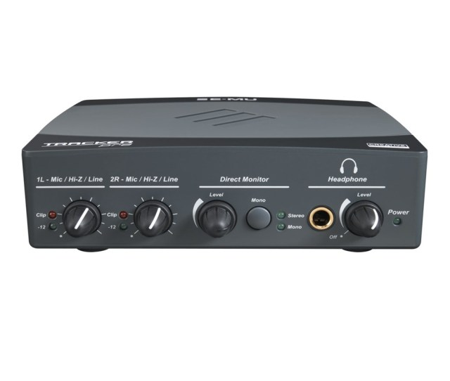 E Mu Tracker Pre Usb Audio Interface