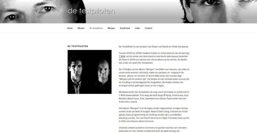 Website De Testpiloten
