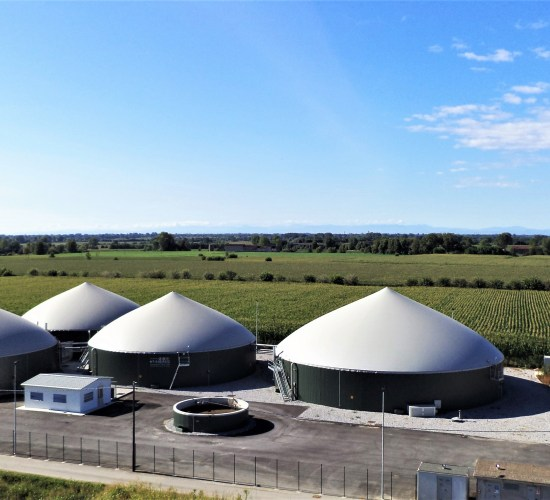 Impianto di Biogas Mesofilo – 999 kW