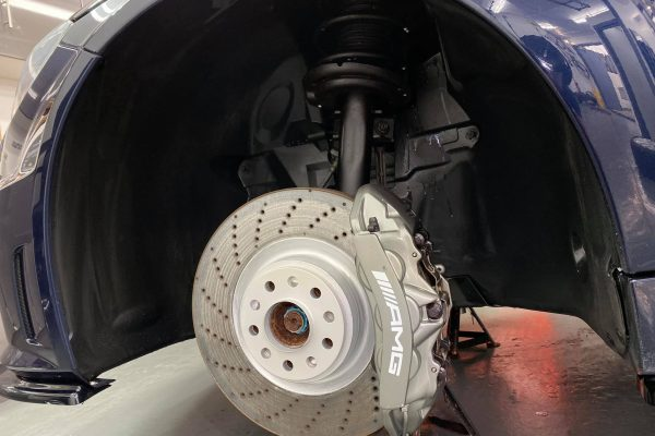 Studio Ten Mercedes C63 Brake after