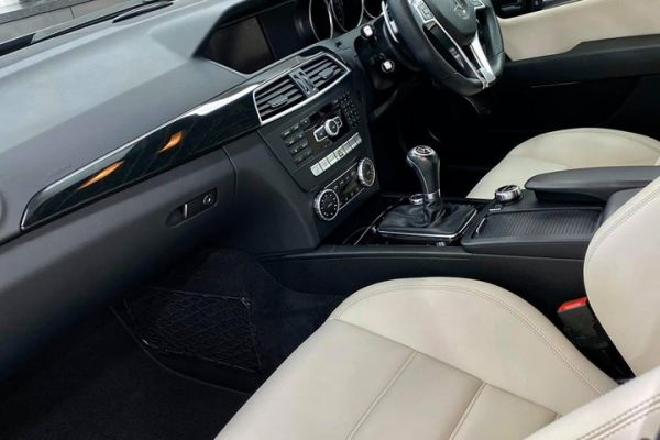 Studio Ten Mercedes C63 interior pass side