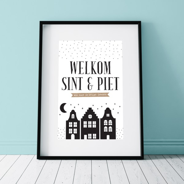 Welkom-Sint-Piet-Sinterklaas-printable