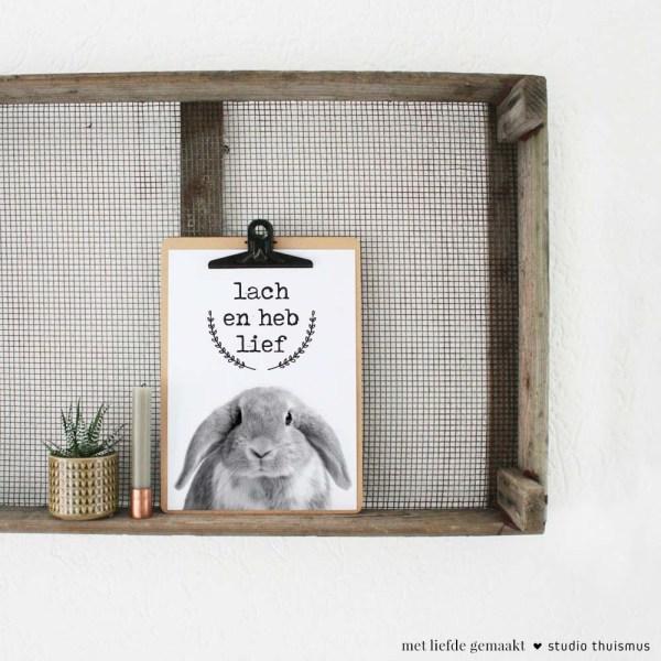 Printable-poster-konijn