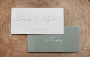 Trouwkaart-modern-handgeschreven