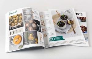Magazine-vormgeving