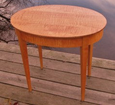 Mike Lynch, Curly Maple side table