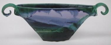 Susan Shaw, Viking Vessel, porcelain 2x4x12