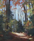 Susan Shaw, Heath Woods, 20 x 24, oil on linen