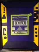 Abstract 1, doubleweave Acrylic and fiber-72