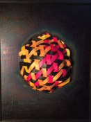 Triaxial planet, acrylic and fiber-72