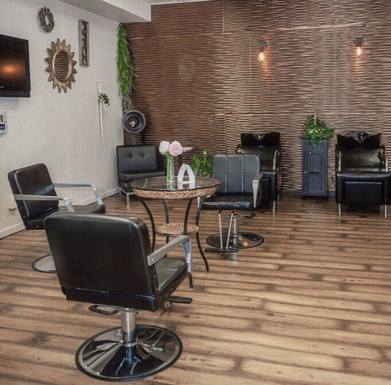 Chair and Table   Studio Trio Hair Salon