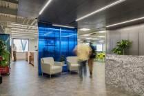 Salary.com's main reception area (Boston real estate design and architecture)