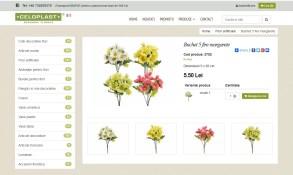 Realizare magazin online articole florale - Bucuresti