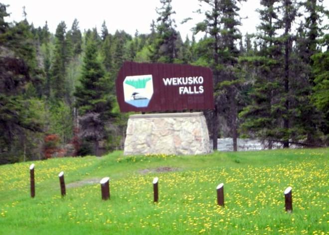 Wekusko Falls