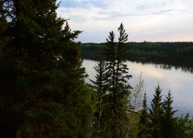 Nipawin Regional Park evening
