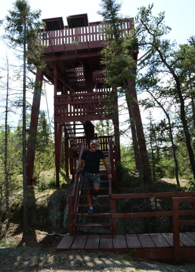 Bakers Narrows scenic tower top