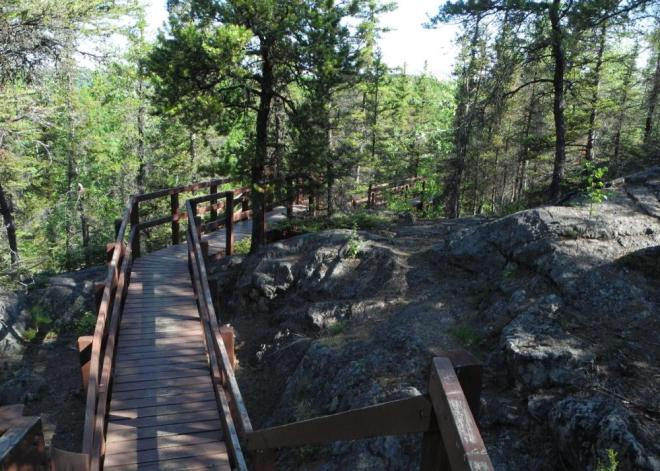 Bakers Narrows steps to lookout