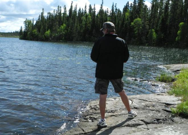 Bakers Narrows Gerry fishing