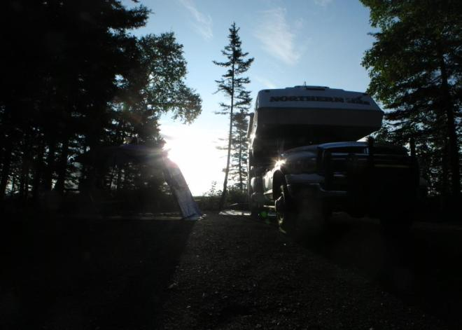 Bakers Narrows campsite