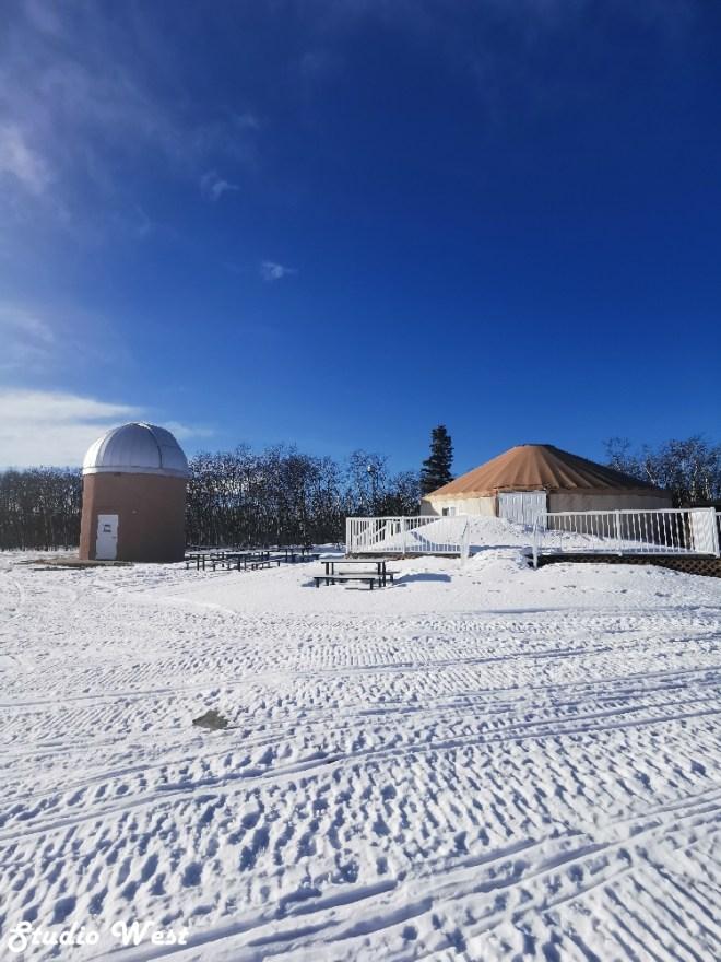 Cypress Hills Provincial Park observatory