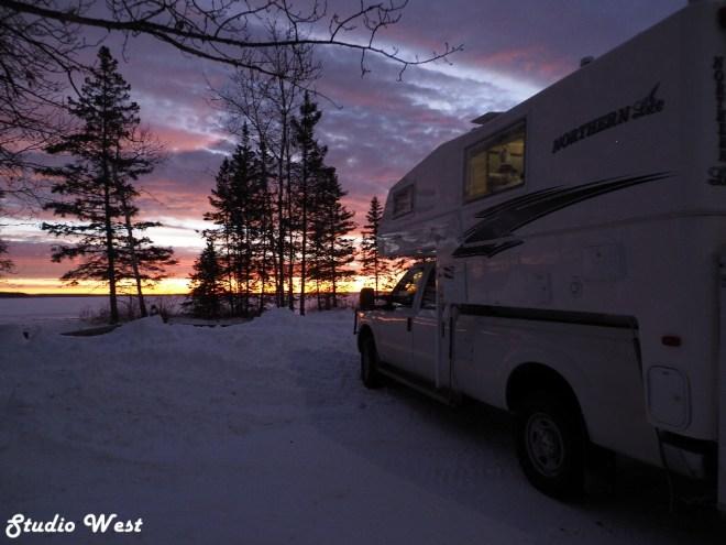 Prince Albert National Park Sunrise