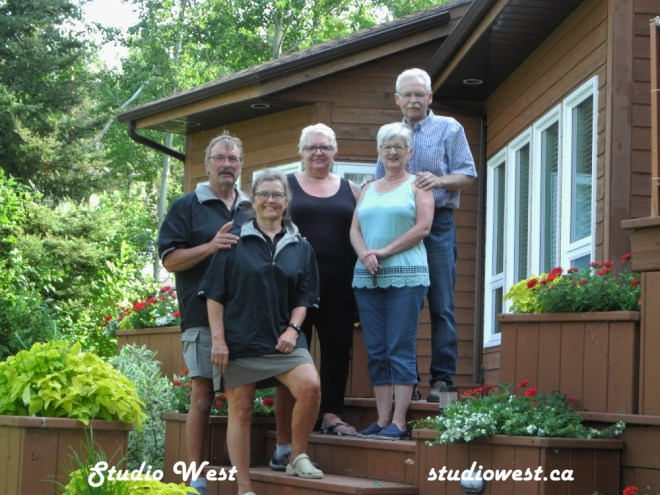 Irene, Linda, Don, Gerry and Charlotte