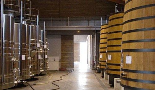kadzie fermentacyjne - Château Desmirail, Bordeaux (foto Studio Wina)