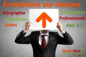 formations web wordpress photoshop StudioXine