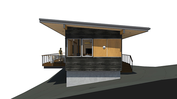 Studio Zerbey Olympic Forest Cabin-3