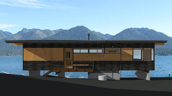 Studio Zerbey Olympic Forest Cabin-4