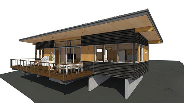 Studio Zerbey Olympic Forest Cabin-5