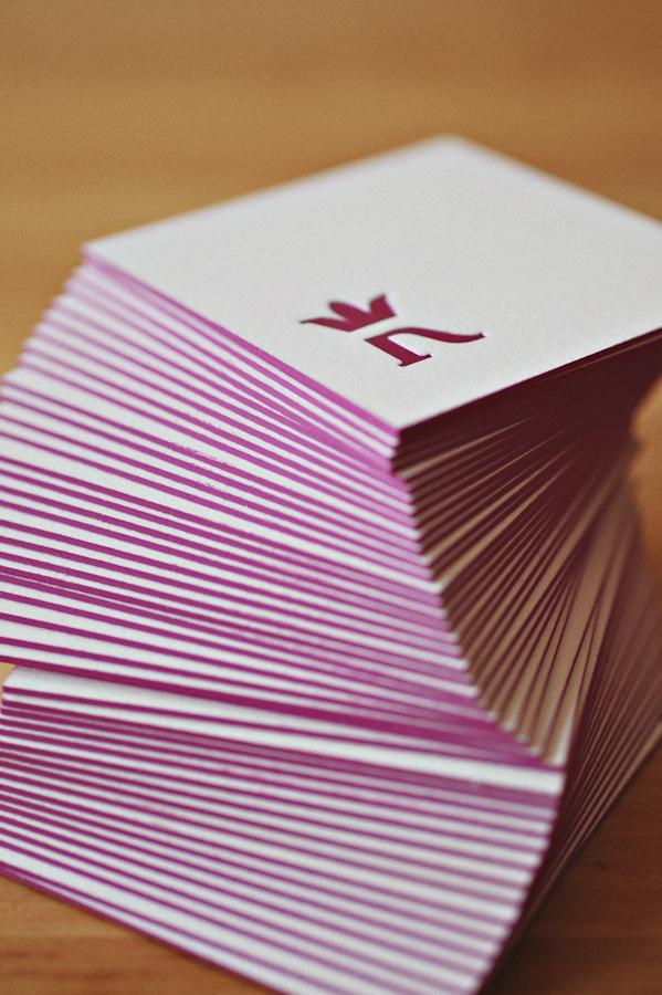 Letterpress Business Cards For International Photographers