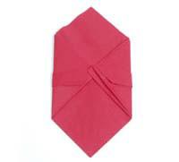Lipatan Napkin Pocket atau Saku 4