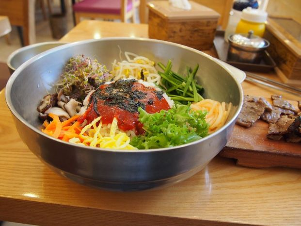 菜單上的韓文單字