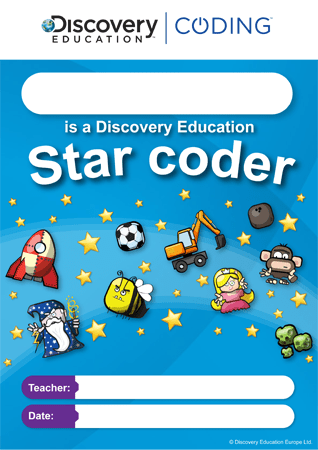 Discovery Education Coding