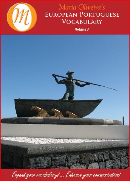 European Portuguese Vocabulary Volume 3 - CD / MP3