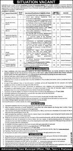 TMA Peshawar Jobs ETEA Roll No Slip 2021 Download Online