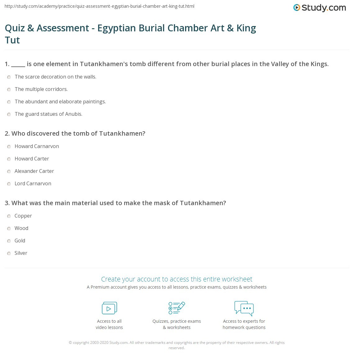 Quiz Amp Assessment
