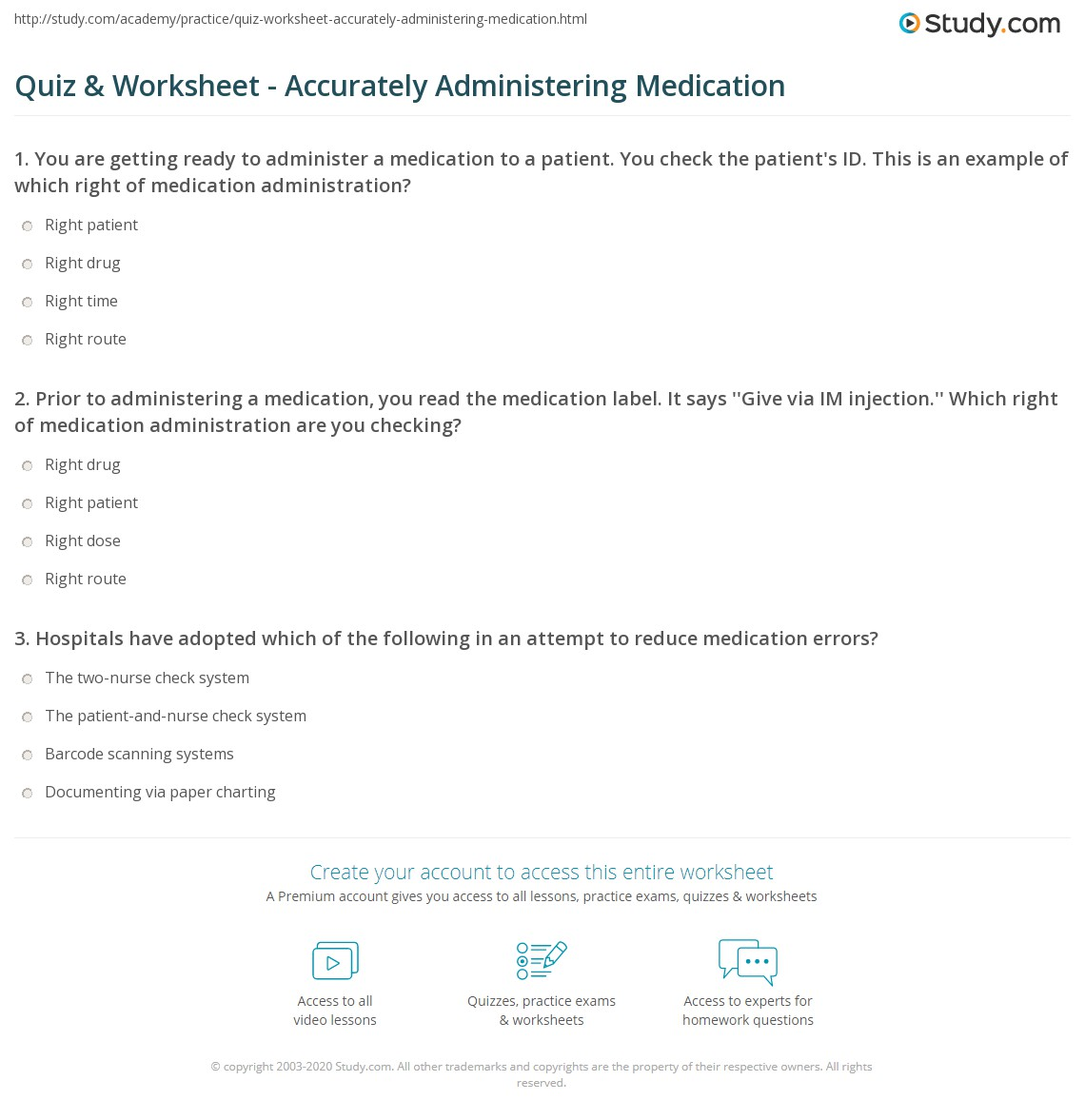 34 3 Label Checks Of Medication Administration