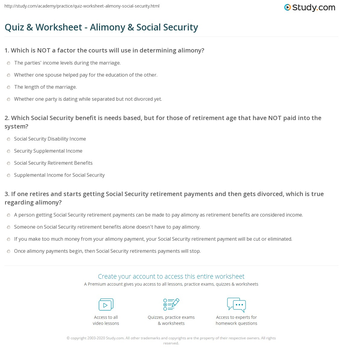 31 Social Security Disability Worksheet