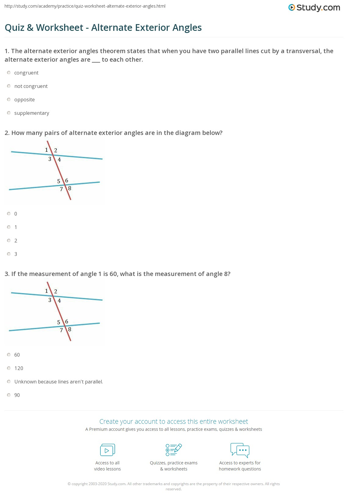 Exterior Angles Of A Polygon Worksheet Polygons Formula