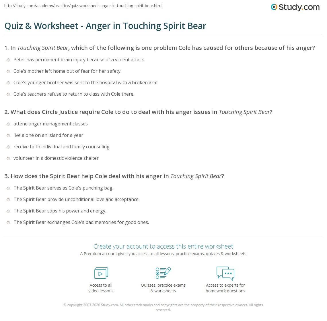 Anger And Forgiveness Worksheets