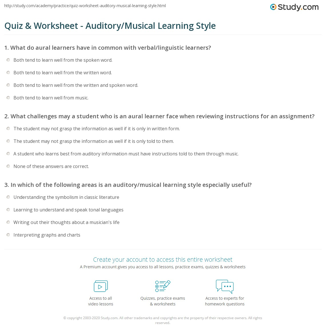 Auditory Learning Style Characteristics 6 Advantages And