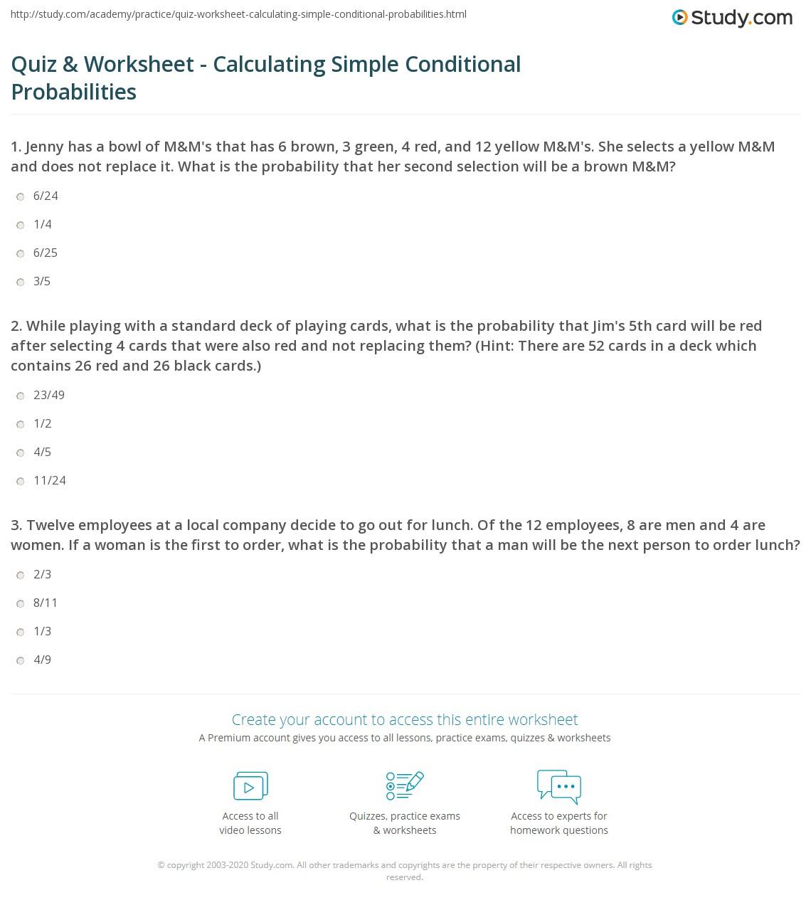 Worksheet Probability With Cards Worksheet Worksheet Fun Worksheet Study Site