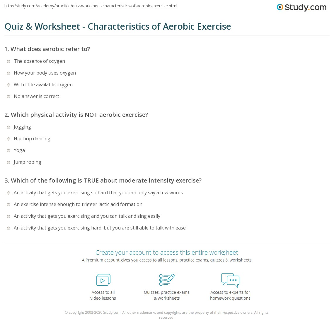 Aerobic Exercise Definition And Examples