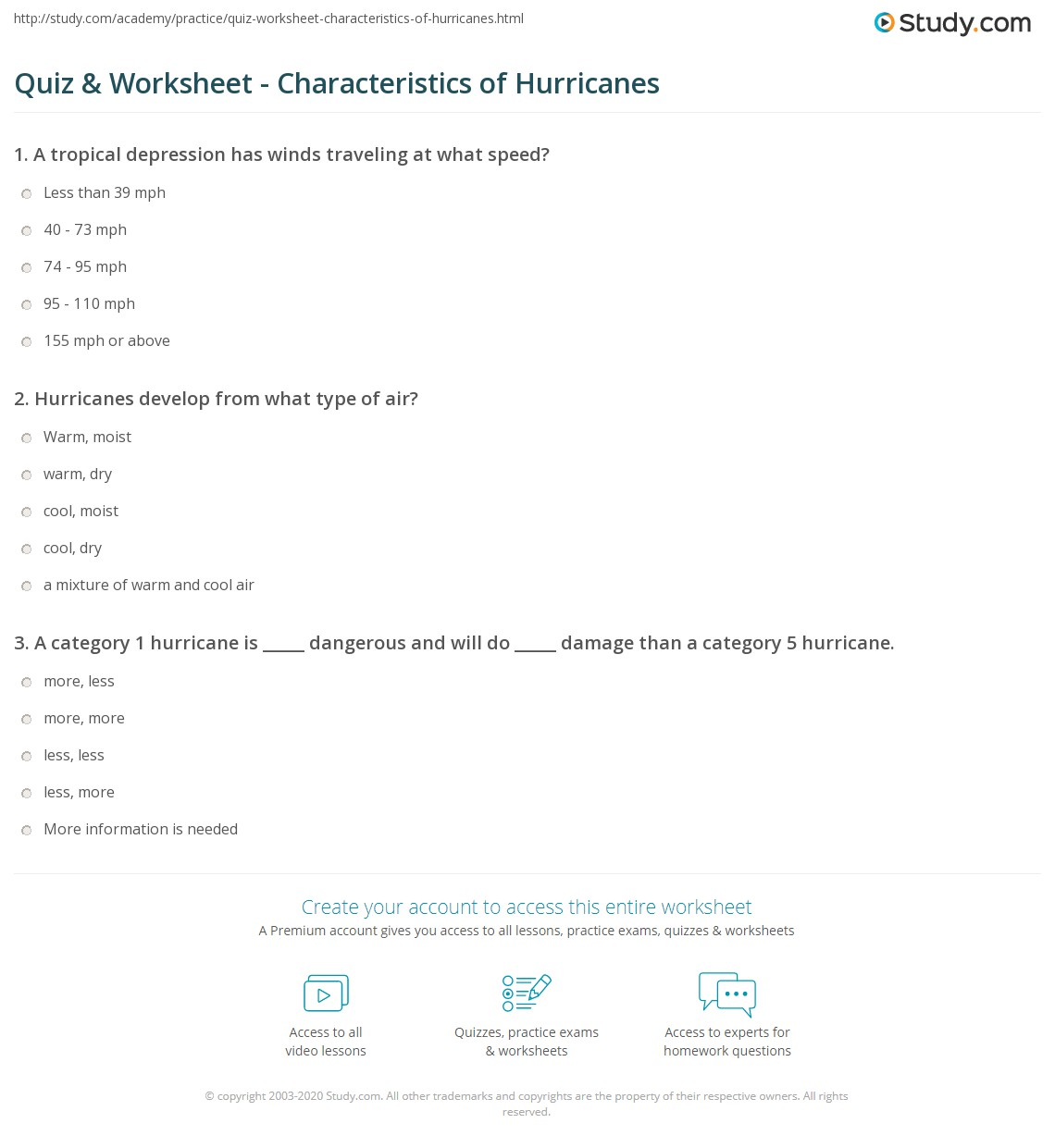 Worksheet Hurricane Worksheets Grass Fedjp Worksheet Study Site